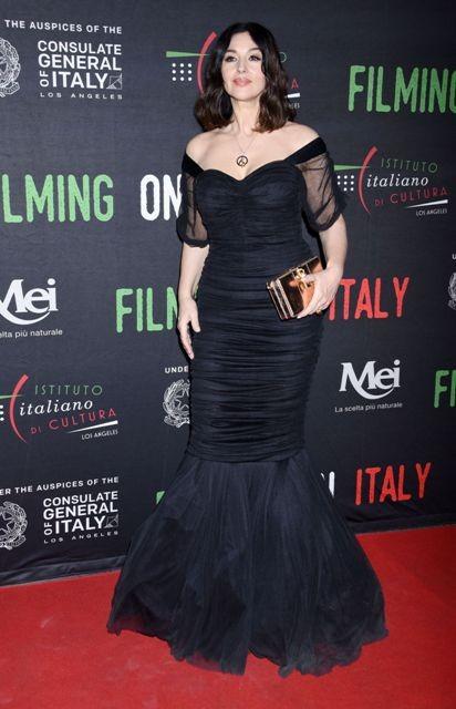 'Biểu tượng sắc đẹp' Monica Bellucci đẹp lôi cuốn tại sự kiện - ảnh 8