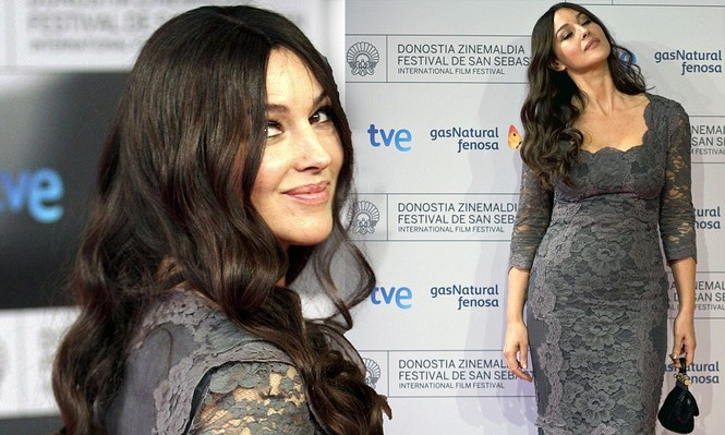 'Tượng đài nhan sắc' Monica Bellucci khoe dáng tạc tượng đầy ngưỡng mộ - ảnh 7