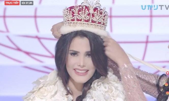 Người đẹp Venezuela đăng quang Hoa hậu Quốc tế 2018 - ảnh 1