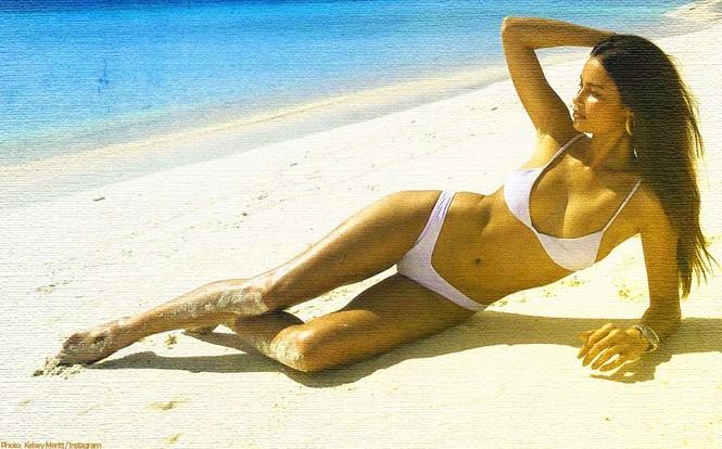 Chân dài 9x Philippines siêu gợi cảm tại Tuần lễ áo tắm Miami - ảnh 14