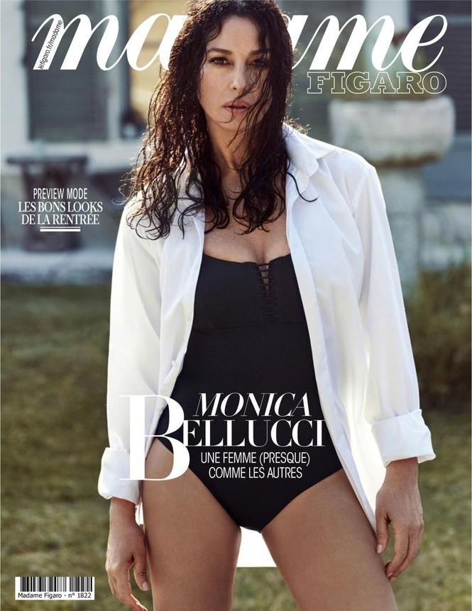 'Người đàn bà đẹp' Monica Bellucci nóng bỏng ngỡ ngàng ở tuổi 55 - ảnh 1