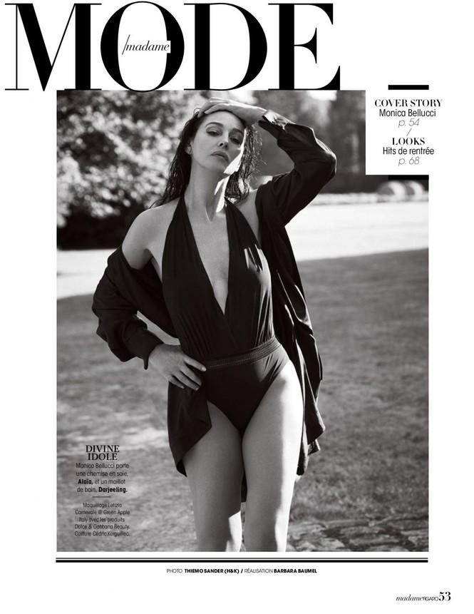 'Người đàn bà đẹp' Monica Bellucci nóng bỏng ngỡ ngàng ở tuổi 55 - ảnh 6
