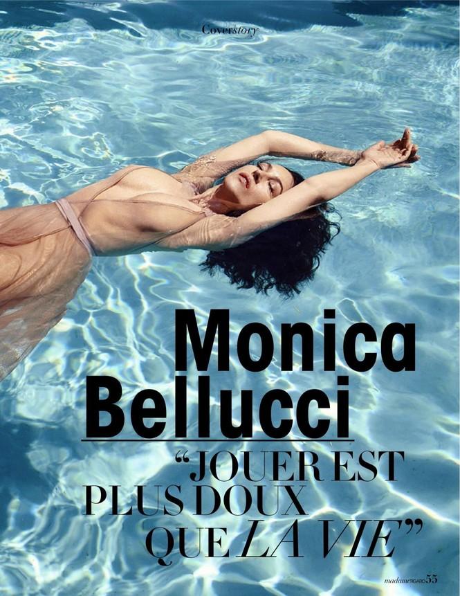 'Người đàn bà đẹp' Monica Bellucci nóng bỏng ngỡ ngàng ở tuổi 55 - ảnh 7