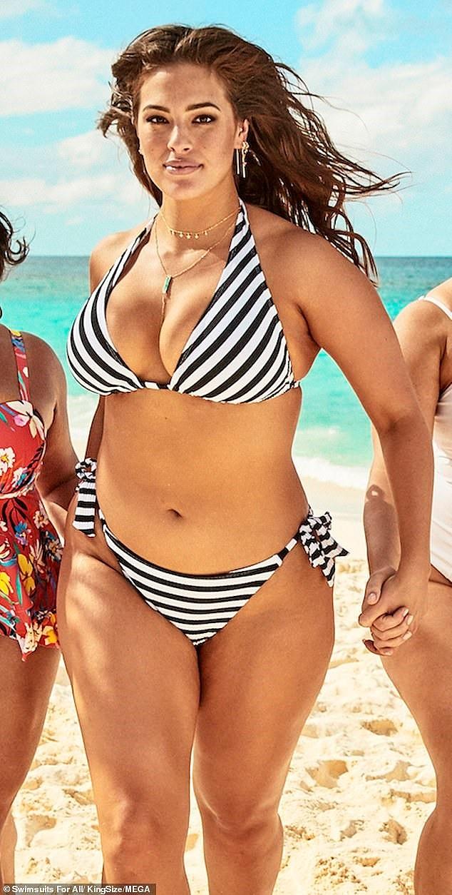 Siêu mẫu ngoại cỡ Ashley Graham phô ngực đầy nóng bỏng  - ảnh 11