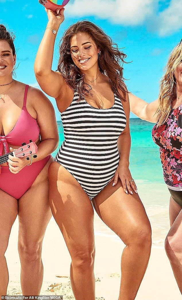 Siêu mẫu ngoại cỡ Ashley Graham phô ngực đầy nóng bỏng  - ảnh 12