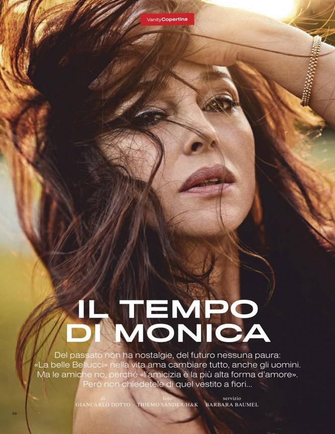 'Tượng đài nhan sắc Ý' Monica Bellucci phô ngực đầy nóng bỏng trên tạp chí  - ảnh 2