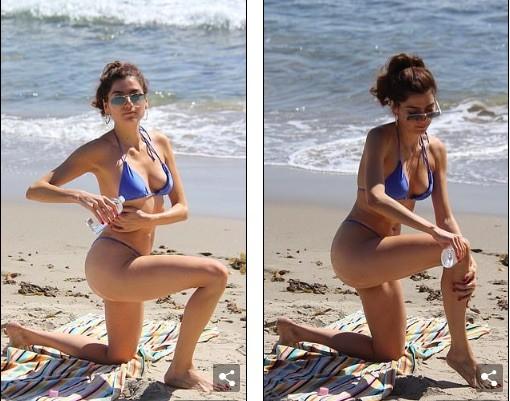 Mỹ nhân Hollywood dáng đẹp như siêu mẫu với bikini bé xíu - ảnh 6