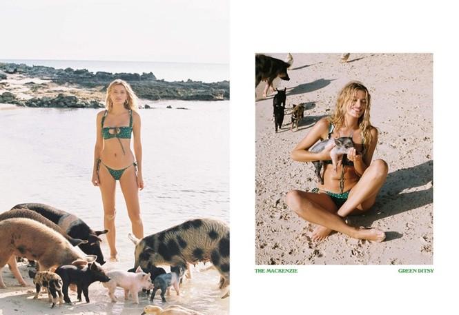 Siêu mẫu Hà Lan Bregje Heinen đẹp mê mẩn với áo tắm - ảnh 16