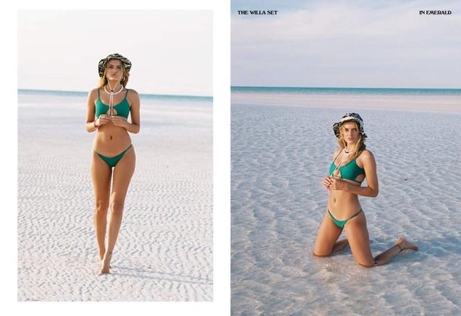 Siêu mẫu Hà Lan Bregje Heinen đẹp mê mẩn với áo tắm - ảnh 4