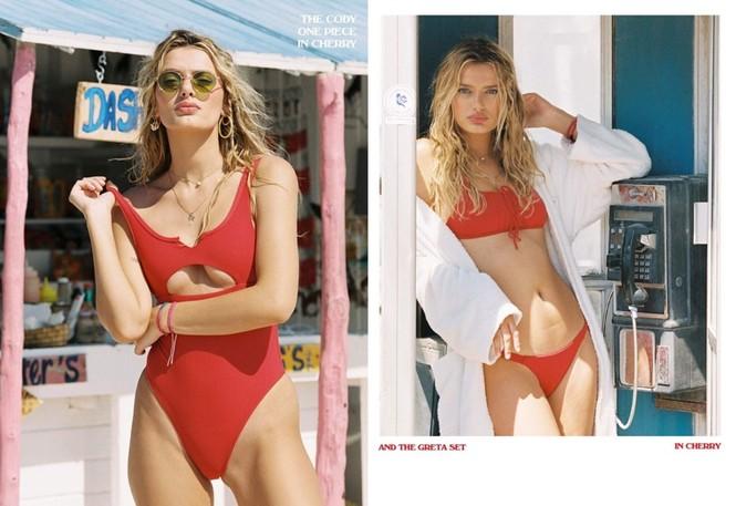 Siêu mẫu Hà Lan Bregje Heinen đẹp mê mẩn với áo tắm - ảnh 9