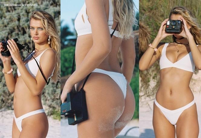 Siêu mẫu Hà Lan Bregje Heinen đẹp mê mẩn với áo tắm - ảnh 11