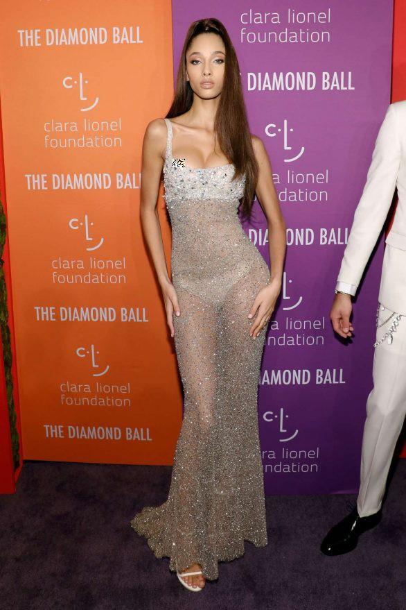 Siêu mẫu Hà Lan lộ ngực phản cảm với váy mỏng tang  - ảnh 7
