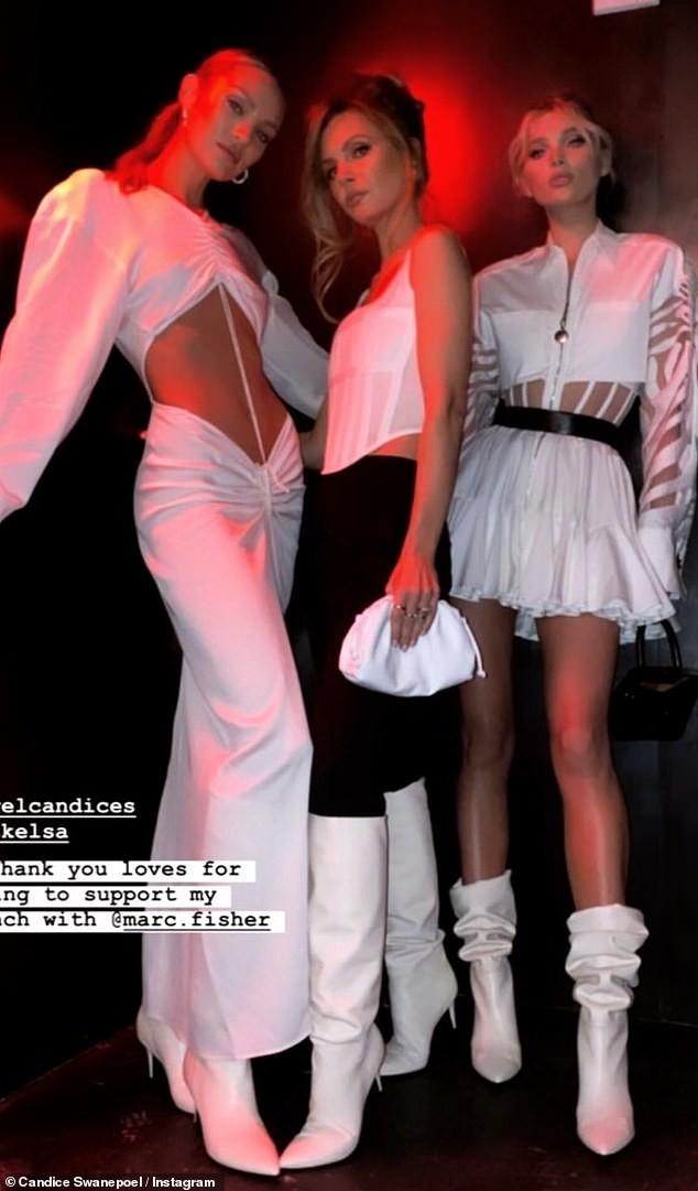 Candice Swanepoel diện mốt không nội y, khoe cơ bụng săn chắc với bộ váy tuyệt đẹp - ảnh 5