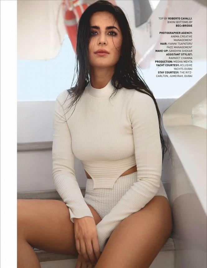 'Phụ nữ gợi cảm nhất Ấn Độ' Katrina Kaif đẹp 'rực lửa' trên tạp chí - ảnh 8