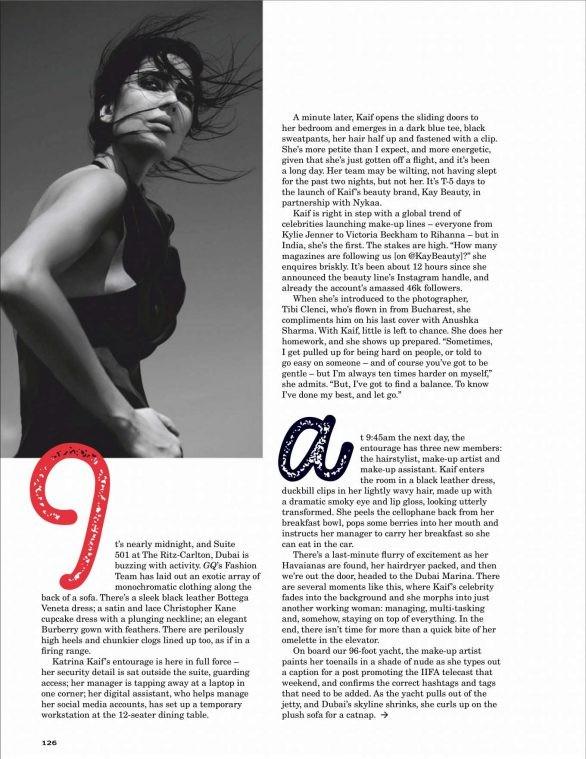 'Phụ nữ gợi cảm nhất Ấn Độ' Katrina Kaif đẹp 'rực lửa' trên tạp chí - ảnh 12