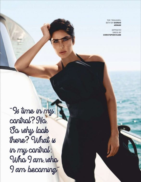 'Phụ nữ gợi cảm nhất Ấn Độ' Katrina Kaif đẹp 'rực lửa' trên tạp chí - ảnh 14