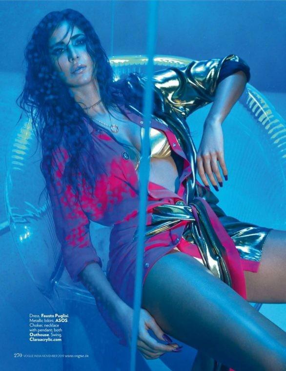'Phụ nữ gợi cảm nhất Ấn Độ' Katrina Kaif đẹp 'rực lửa' trên tạp chí - ảnh 5