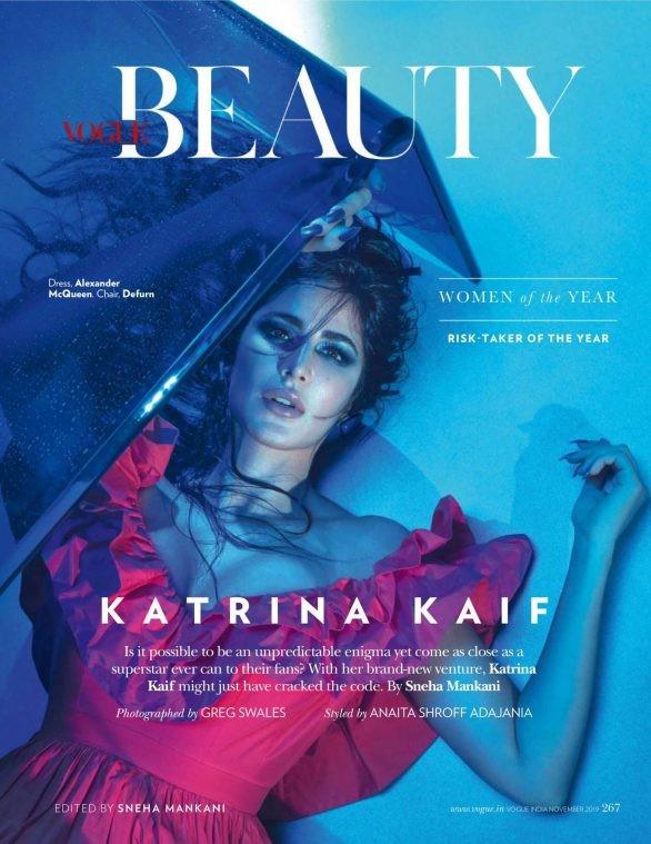 'Phụ nữ gợi cảm nhất Ấn Độ' Katrina Kaif đẹp 'rực lửa' trên tạp chí - ảnh 1