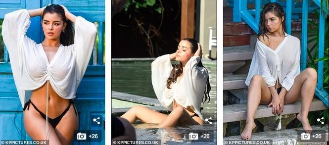 Không chỉ quý ông, chị em cũng phải mê mệt ngắm vẻ hững hờ này của Demi Rose - ảnh 4