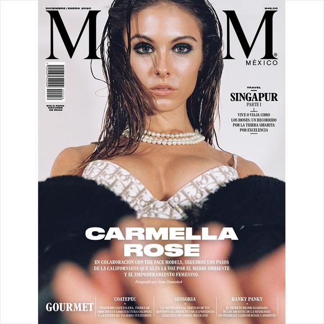 Carmella Rose quyến rũ 'thôi miên' người nhìn với ảnh ngực trần nóng bỏng - ảnh 1