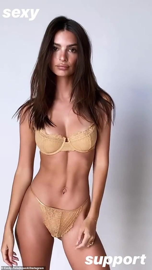Ảnh bán nude khoe võng lưng tuyệt đẹp của siêu mẫu nội y Emily Ratajkowski  - ảnh 7