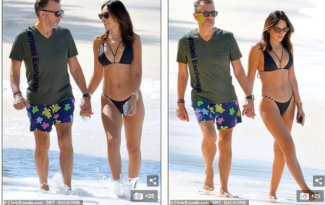 Duncan Bannatyne đi nghỉ bên vợ trẻ nóng bỏng kém 31 tuổi - ảnh 1