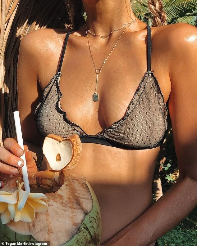 Hoa hậu Hoàn vũ Úc Tegan Martin đẹp rực lửa với bikini - ảnh 2
