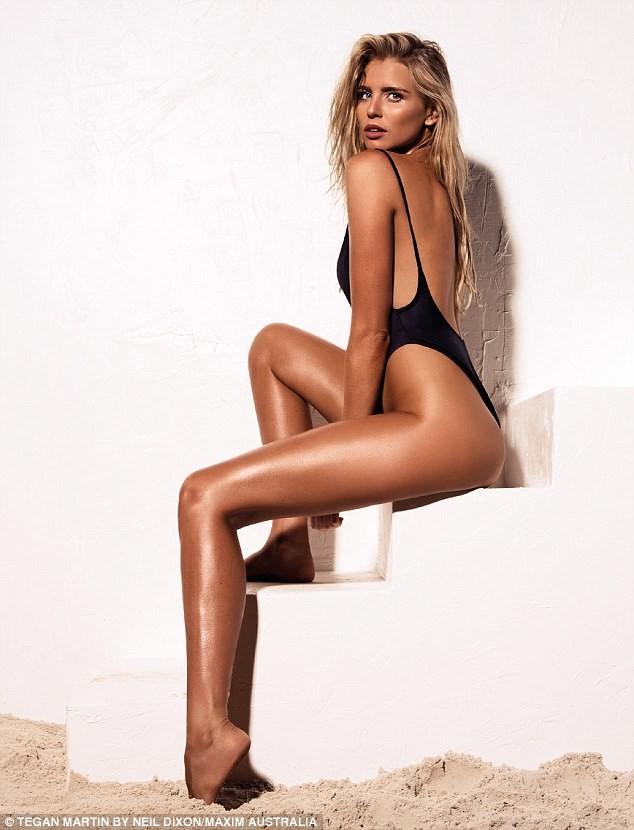 Hoa hậu Hoàn vũ Úc Tegan Martin đẹp rực lửa với bikini - ảnh 6