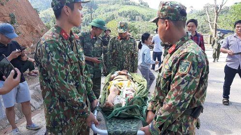 Vụ sạt lở 43 người mất tích ở Quảng Nam: Tìm được hàng chục người còn sống - ảnh 3
