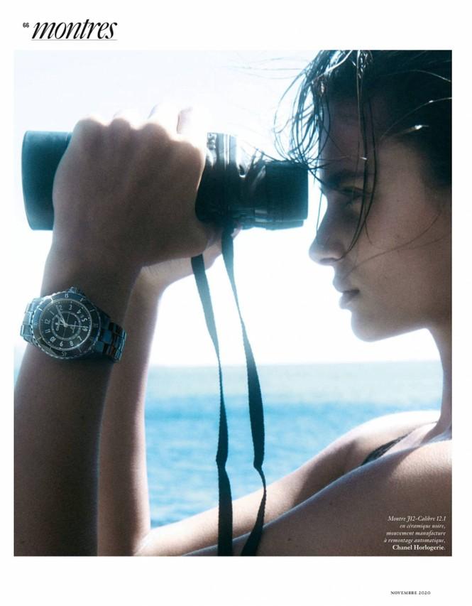 'Thiên thần nội y' Taylor Hill thần thái đỉnh cao, đẹp ngất ngây trên tạp chí - ảnh 7
