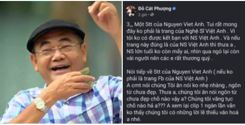 Showbiz 19/12: Cát Phượng viết tâm thư xin lỗi NSND Việt Anh liên quan vụ gặp gymer - ảnh 1