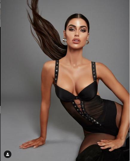 Hoa hậu Hoàn vũ Hy Lạp 2018 'thả rông' nóng bỏng trên tạp chí - ảnh 11