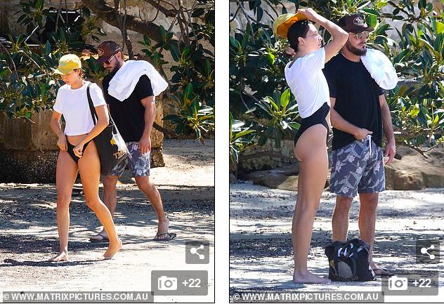 Zac Efron đưa bạn gái nóng bỏng đi biển - ảnh 2