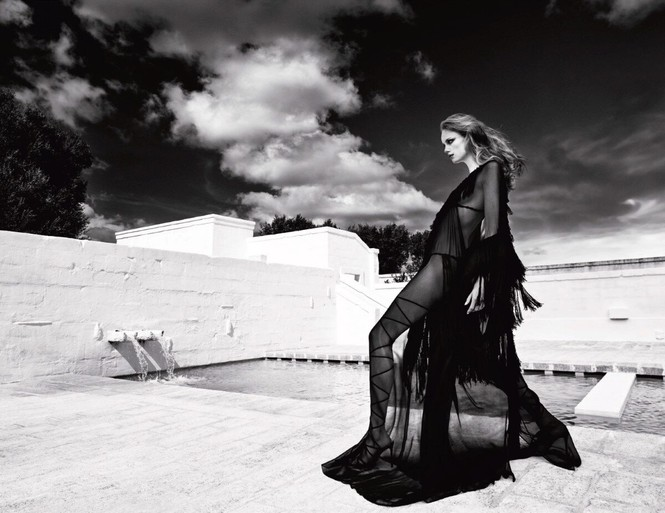 Sắc vóc của nàng mẫu trong clip quảng cáo của Louis Vuitton quay ở Việt Nam - ảnh 4