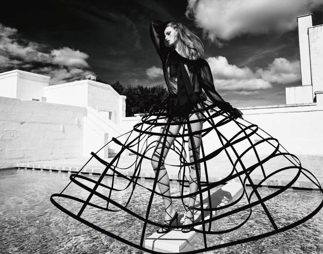 Sắc vóc của nàng mẫu trong clip quảng cáo của Louis Vuitton quay ở Việt Nam - ảnh 6