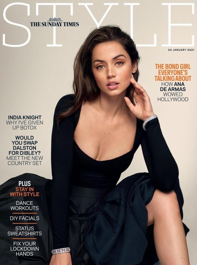 'Bond girl' Ana de Armas gợi cảm mê mẩn trên tạp chí sau chia tay Ben Affleck - ảnh 1