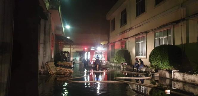 Cháy lớn tại công ty đế giày ở Hải Phòng - ảnh 2