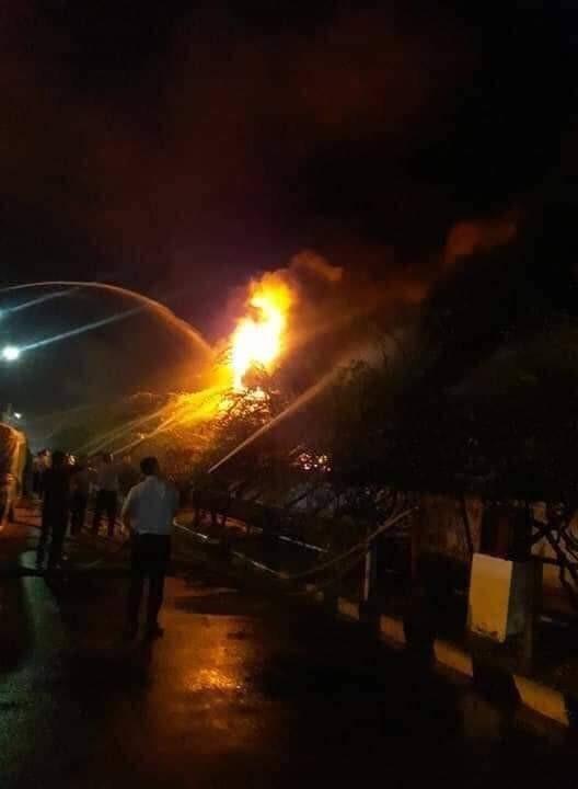 Cháy lớn tại công ty đế giày ở Hải Phòng - ảnh 1