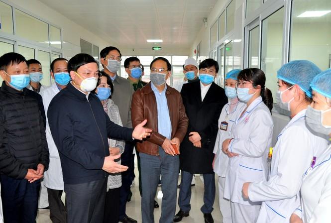 Móng Cái đưa vào sử dụng bệnh viện cách ly đặc biệt với quy mô 500 giường bệnh - ảnh 6