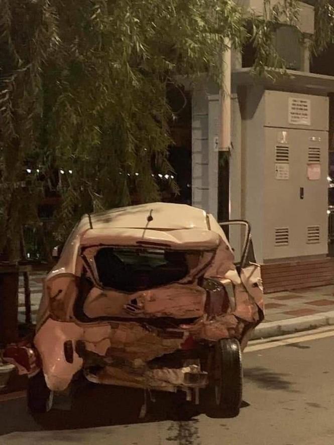 Hải Phòng: 'Xe điên' đâm liên hoàn trong đêm, 2 người thương vong - ảnh 2