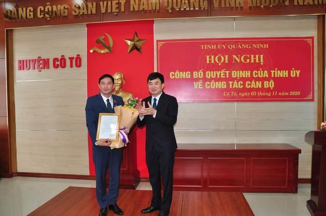 Bí thư Tỉnh đoàn Quảng Ninh làm Bí thư huyện đảo Cô Tô - ảnh 1