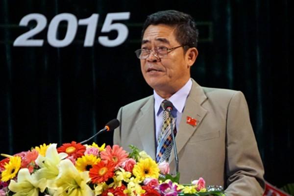 Cho ông Lê Thanh Quang thôi chức Bí thư Khánh Hoà để chữa bệnh - ảnh 1