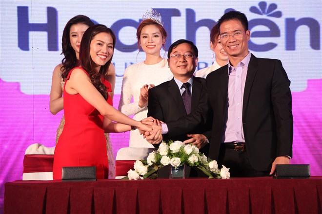Hoa hậu Việt Nam 2016 trở lại Sài Gòn - ảnh 1