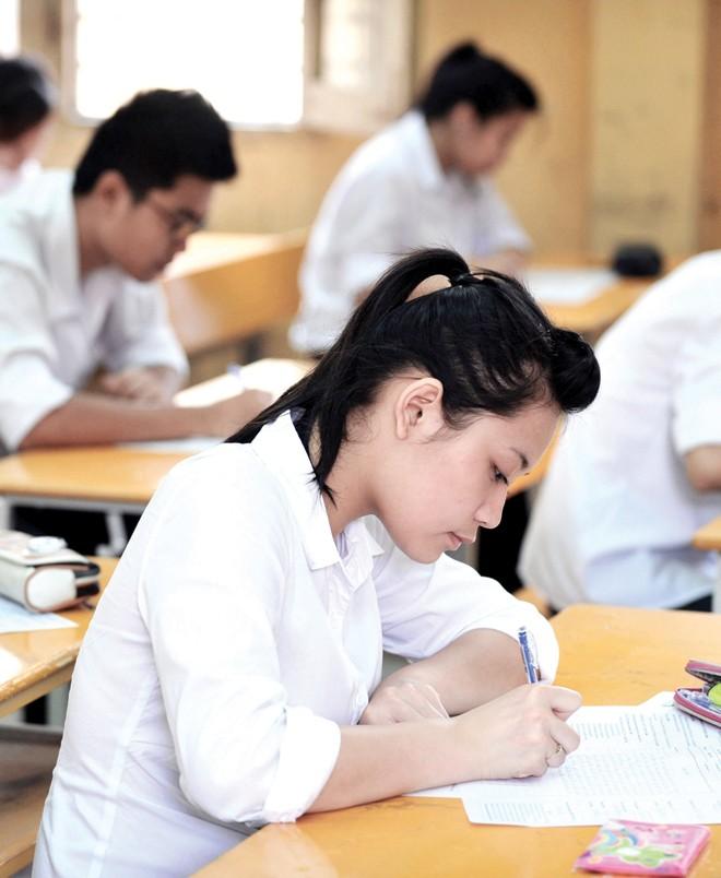 Bài thi tổ hợp 3 môn: Học sinh căng thẳng, không kịp trở tay - ảnh 1