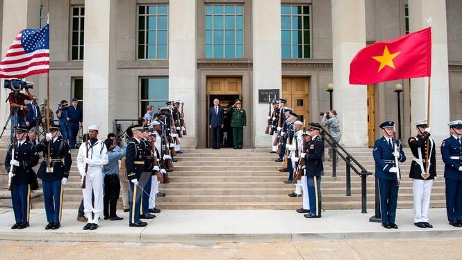 Hoạt động của Bộ trưởng Quốc phòng Ngô Xuân Lịch tại Hoa Kỳ - ảnh 1