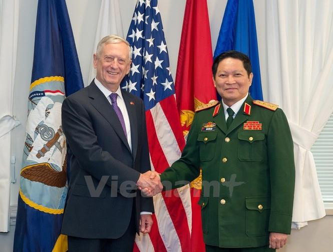 Hoạt động của Bộ trưởng Quốc phòng Ngô Xuân Lịch tại Hoa Kỳ - ảnh 2