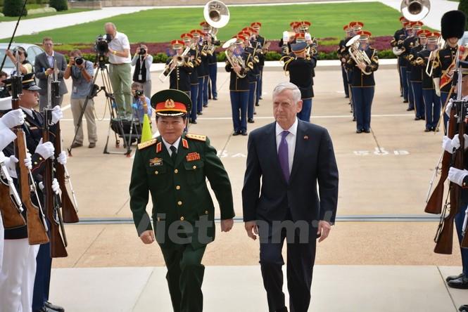 Hoạt động của Bộ trưởng Quốc phòng Ngô Xuân Lịch tại Hoa Kỳ - ảnh 5
