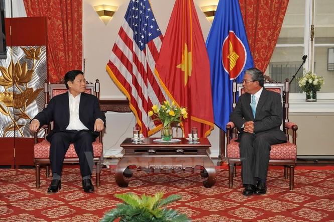 Hoạt động của Bộ trưởng Quốc phòng Ngô Xuân Lịch tại Hoa Kỳ - ảnh 9