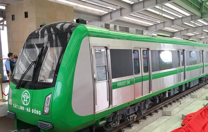 Đường sắt Cát Linh - Hà Đông: Đủ 13 đoàn tàu mới vận hành được - ảnh 1