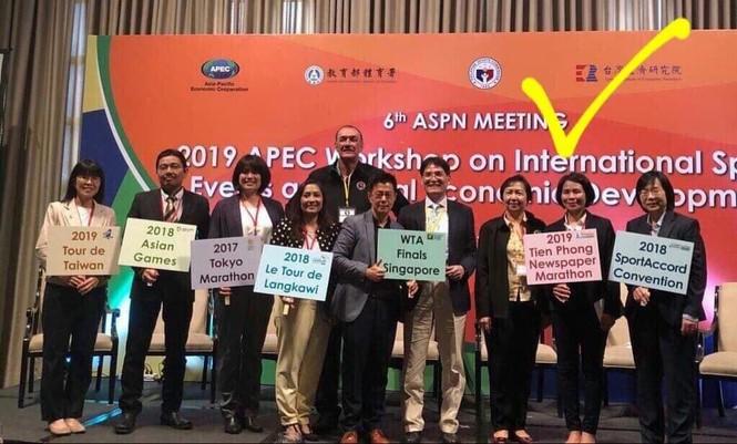 Tiền Phong Marathon 'ra mắt' Hội nghị APEC - ảnh 1
